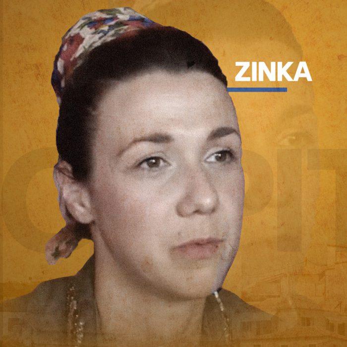 Portrait of Zinka, organizer