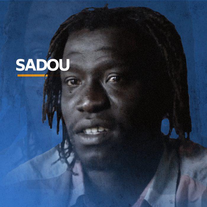 Portrait of Sadou, cook